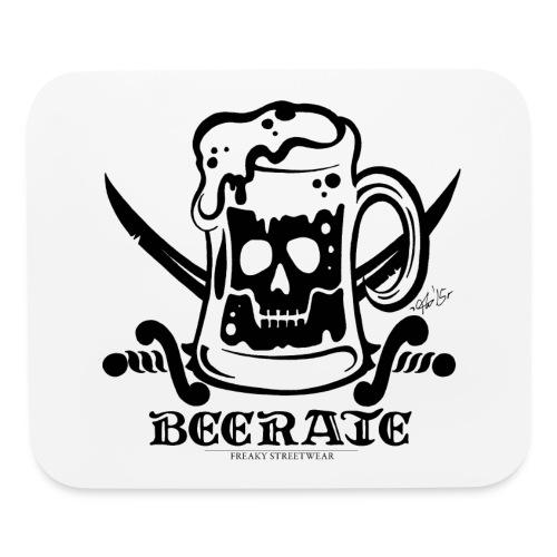 Beerate - black - Mouse pad Horizontal