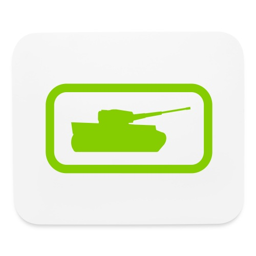 Tank Logo - Multi-Color - Axis & Allies - Mouse pad Horizontal