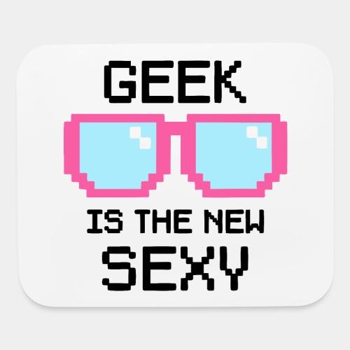 geek school nerd - Mouse pad Horizontal