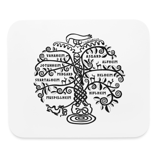 Yggdrasil - The World Tree - Mouse pad Horizontal