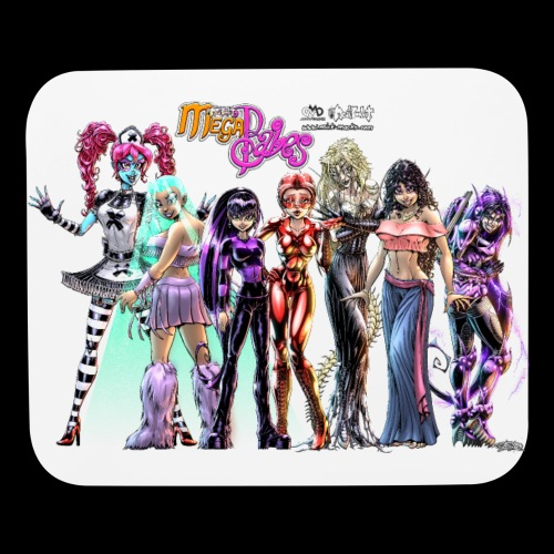 Megababes Group Picture - Mouse pad Horizontal