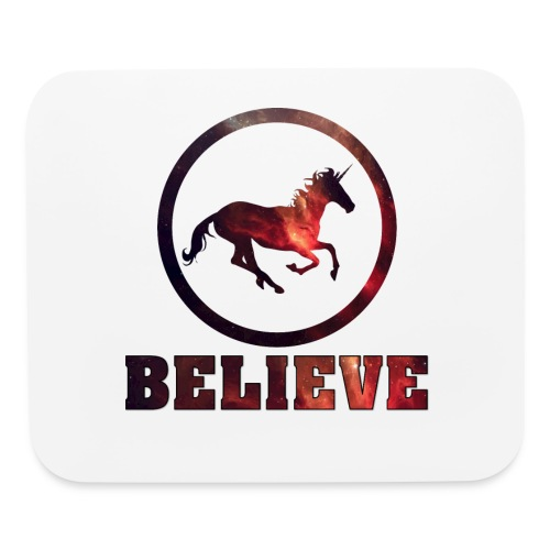 Believe Unicorn Universe 5 - Mouse pad Horizontal