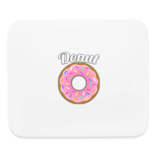 Donut Official - Mouse pad Horizontal