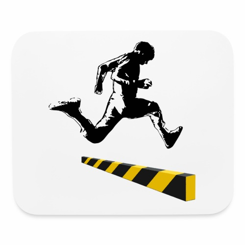Leaping The Bounds of Caution - Mouse pad Horizontal