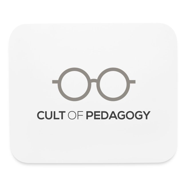 Cult of Pedagogy (grey/black text)