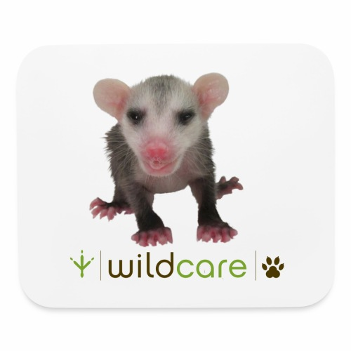 Baby Opossum in Care at WildCare - Mouse pad Horizontal