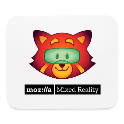 Foxr Head (black MR logo) - Mouse pad Horizontal
