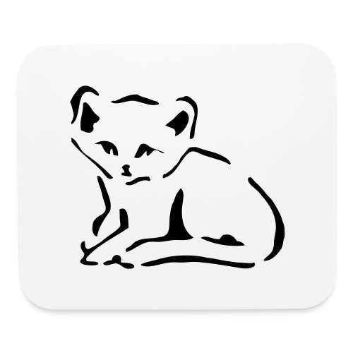 Kitty Cat - Mouse pad Horizontal
