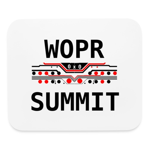 WOPR Summit 0x0 RB - Mouse pad Horizontal