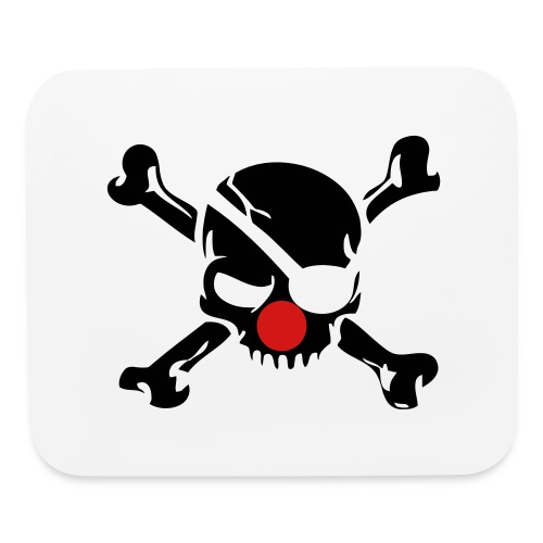 Jolly Roger Clown - Mouse pad Horizontal