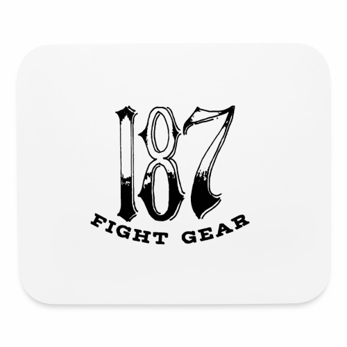 Trevor Loomes 187 Fight Gear Logo Best Sellers - Mouse pad Horizontal