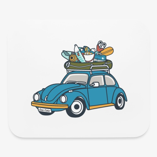 Gone Fishin' - Mouse pad Horizontal
