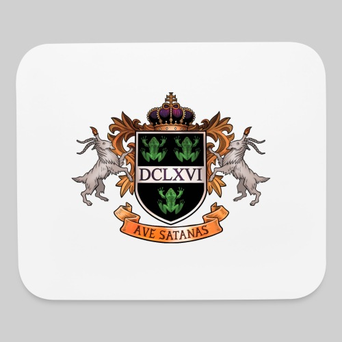 Satanic Heraldry - Coat of Arms - Mouse pad Horizontal