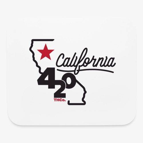 California 420 - Mouse pad Horizontal