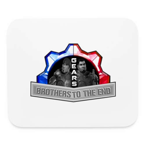 BROS TO THE END GEARS - Mouse pad Horizontal