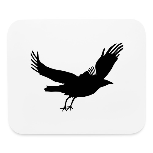 Crow - Mouse pad Horizontal