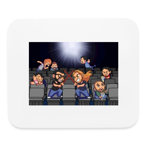 A Night at the Movies - Mouse pad Horizontal