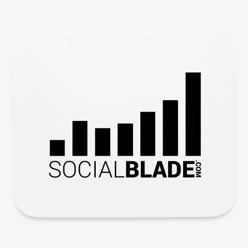 Socialblade (Dark) - Mouse pad Horizontal