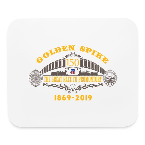 Golden Spike Color UP Logo - Mouse pad Horizontal