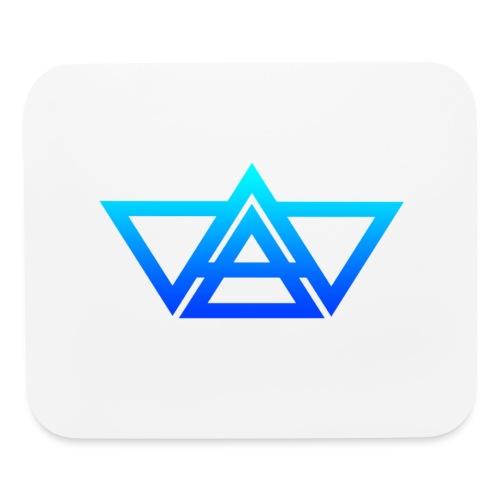 THIAXIS TRIANGLES LOGO - Mouse pad Horizontal