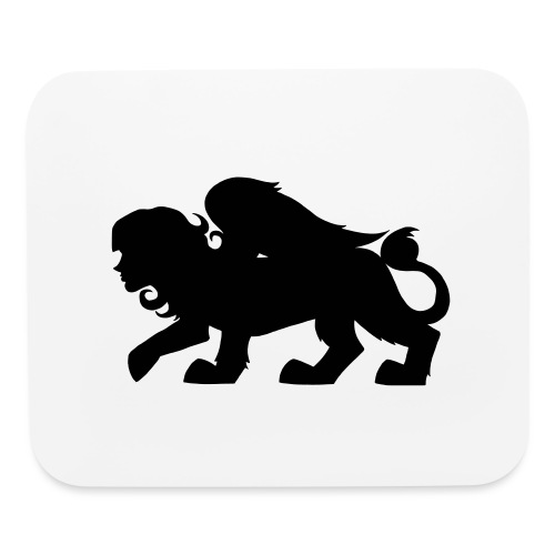 Sphynx Silhouette - Mouse pad Horizontal