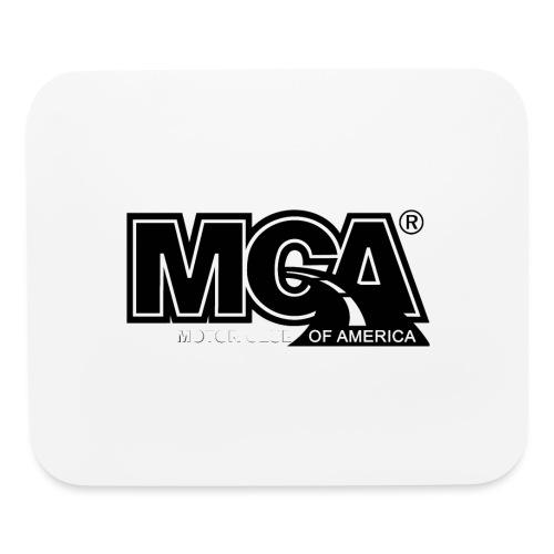 MCA Logo WBG Transparent BLACK TITLEfw fw png - Mouse pad Horizontal