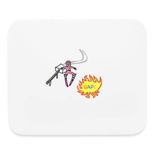 Gape Hoodie - Mouse pad Horizontal