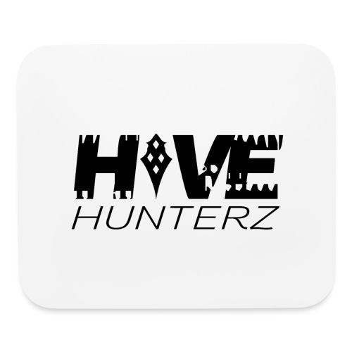 Hive Hunterz Black Logo - Mouse pad Horizontal