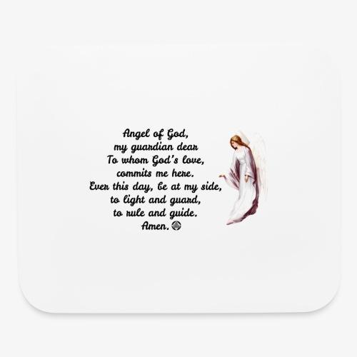 Guardian Angel prayer - Mouse pad Horizontal