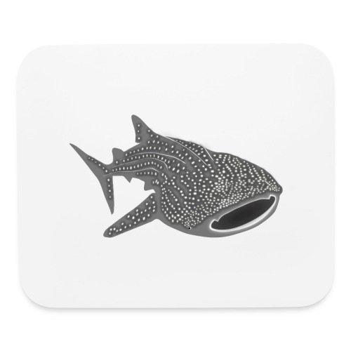 save the whale shark sharks fish dive diver diving - Mouse pad Horizontal