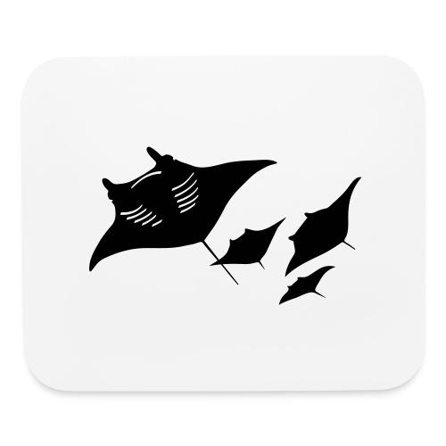 manta ray sting scuba diving diver dive - Mouse pad Horizontal