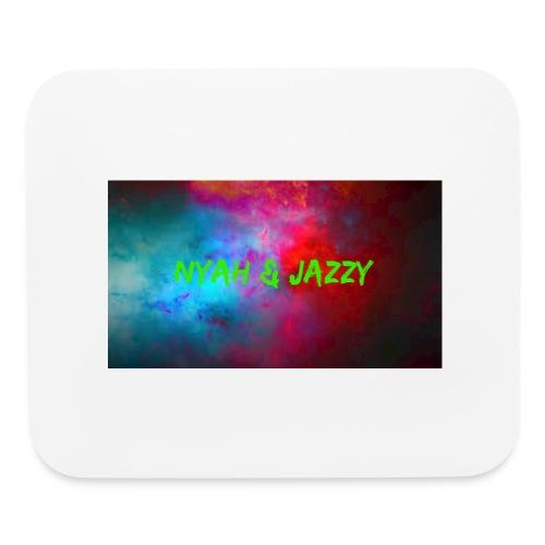 NYAH AND JAZZY - Mouse pad Horizontal