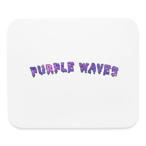 Purple Waves - Mouse pad Horizontal