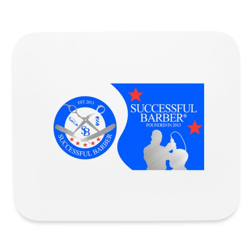 Official Successful Barber - Mouse pad Horizontal