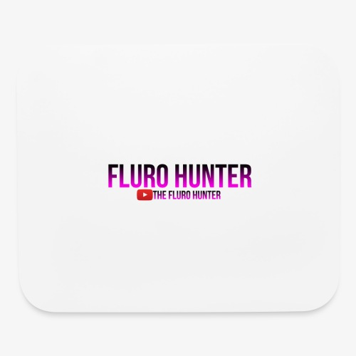 The Fluro Hunter Black And Purple Gradient - Mouse pad Horizontal