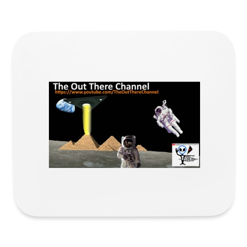 UFO Pyramids2019 TheOutThereChannel - Mouse pad Horizontal