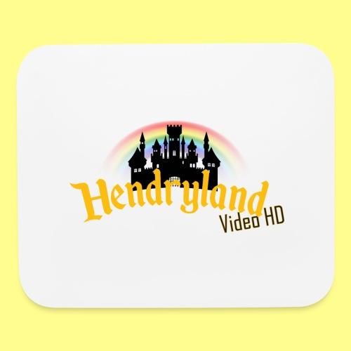 HENDRYLAND logo Merch - Mouse pad Horizontal