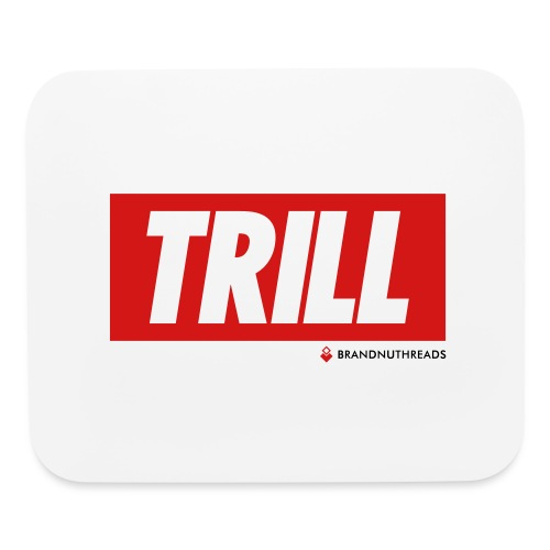 trill red iphone - Mouse pad Horizontal