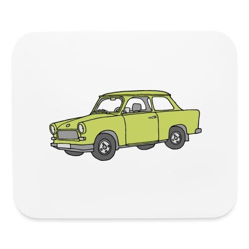 Trabant (baligreen car) - Mouse pad Horizontal