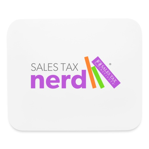 Sales Tax Nerd - Mouse pad Horizontal