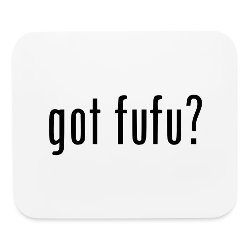 gotfufu-black - Mouse pad Horizontal