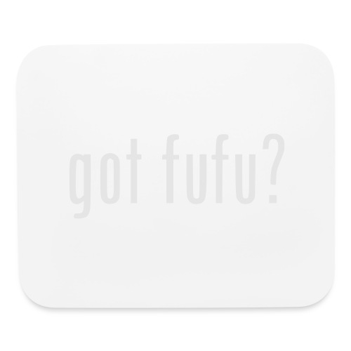 gotfufu-white - Mouse pad Horizontal