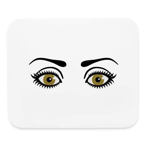 Eyes Wide Open - Mouse pad Horizontal
