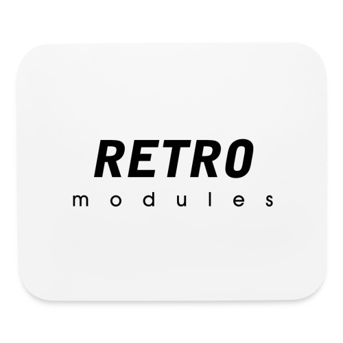 Retro Modules - sans frame - Mouse pad Horizontal
