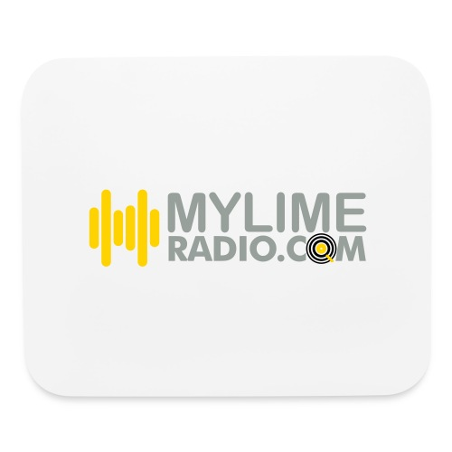 MyLimeRadio ALT LOGO (Tri Colour) - Mouse pad Horizontal