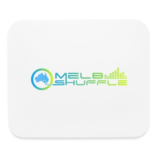 Melbshuffle Gradient Logo - Mouse pad Horizontal