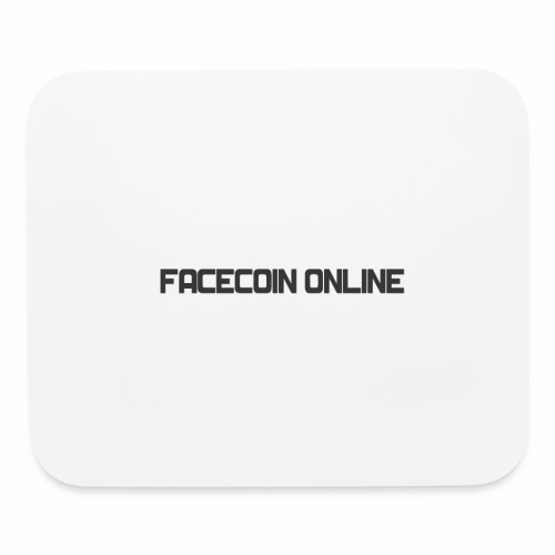 facecoin online dark - Mouse pad Horizontal