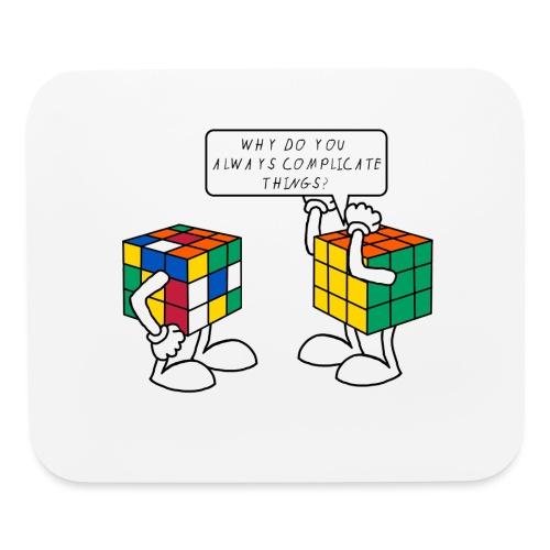 Rubik's Cube Complicate Things - Mouse pad Horizontal