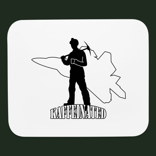 Kaffeinated Hero - Mouse pad Horizontal