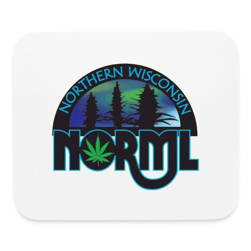 Northern Wisconsin NORML Official Logo - Mouse pad Horizontal